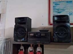 Mini System Panasonic SC-AKX100LBK