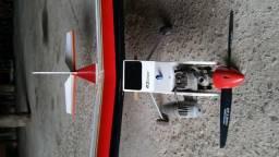 Aeromodelo Semi-Novo para Iniciantes + Controle Remoto