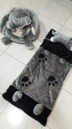 Saco de Dormir Infantil Pelúcia Elefante