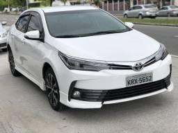 Corolla XRS Automatico couro e multimídia ligar 21- * - 2018