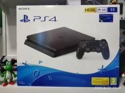 PlayStation 4 Slim 1tb 1000gb - Lançamento - Ps4 . Em até 12x pronta entrega