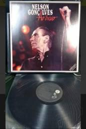 Discos de Vinil Coletânea com 12 Discos do Boêmio Nelson Gonçalves
