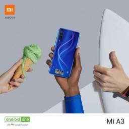 Xiaomi Mi A3 Global - 128 GB / 4 GB + Fone + Capinha + Película + 7 Brindes - Digital Tela