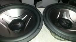 Vendo 2 alto falantes sub arlen 700rms bobina dupla