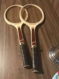 Par de Raquetes de tênis Netmaster Juvenil(década de 70)