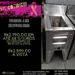 Fritadeira a gás/ Br Cozine