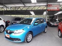 Renault sandero 1.6 8v c/ 28 mil kms completo - 2017
