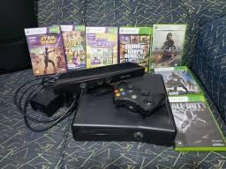 Xbox 360 - Acompanha Kinect E Mais 7 Jogos