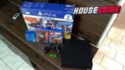 Playstation 4 Slim 500Gb Nacional Aceito Cartão 12x