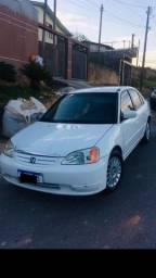 Honda civic lx 2001 automático - 2001