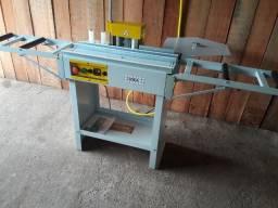 Coladeira de bordas idea com mesas de roletes