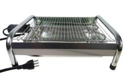 Churrasqueira Elétrica Portátil Com Grelha Tok Grill 110V Usado