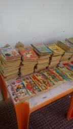 Coleção de gibis infantil antigas