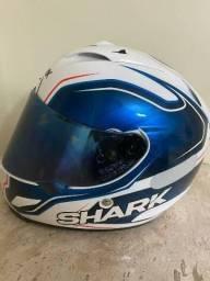 Capacete SHARK ORIGINAL RACE-R Race R PRO Sylvain Guintoli WSBK Branco/Azul