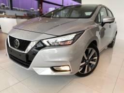 Novo Nissan Versa Exclusive CVT R$ 106.990.00