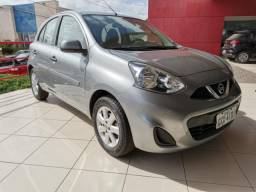 Nissan march 2015 1.6 s 16v flex 4p manual