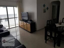 Apartamento 80 m2 - 3 Dormitórios - Enseada - Guarujá.