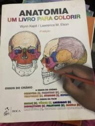 Anatomia, um livro pra colorir