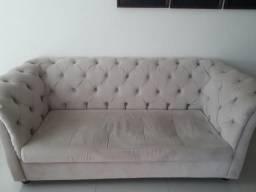 Sofá e cabeceira de cama box