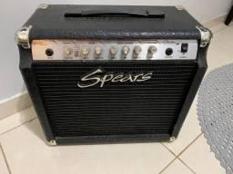 Amplificador Spears com distorção