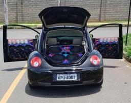New beetle montado deboxe. automático. teto. aceito troca - 2008
