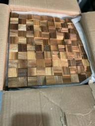 Mosaicos em madeira