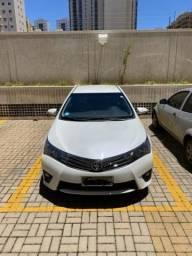 Vendo Toyota Corolla branco pérola. XEI 2.0 - 2015