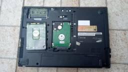 Notebook samsung Modelo rv411 para retirada de peças + hd de 500 gb