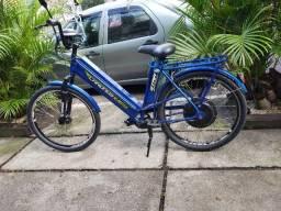 Bicicleta Elétrica EBike Chronos 800w ano 2015 Cor Azul