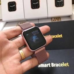 Smart Watch t80 (duas pulseiras)