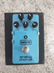 Pedal Guitarra MXR Analog Chorus M234 seminovo