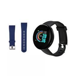 SMARTWATCJ D18 KIT com duas pulseiras - Esportes - Redes sociais