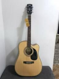 Violão Elétrico Folk Cort AD880 - Seminovo