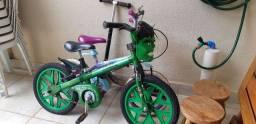 Bicicleta Infantil do Hulk