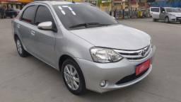 Etios Sedan XLS 1.5 completo, Automático com GNV
