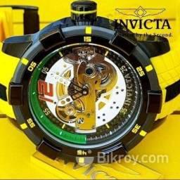 Relógio Invicta Original de Grife Automático Referência 26617 Mod. S1 Rally