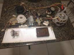 Vendo parte elétrica da lavadora turbo compacta toda completa