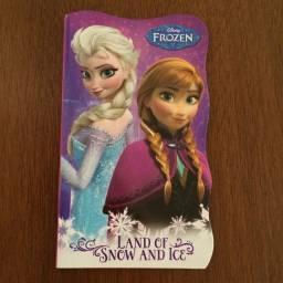 Disney Frozen-Land of Snow And Ice-Bendon-Perfeito estadocoleção2014-capa folhas duras