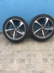 Jogo de rodas aro 19 com pneus