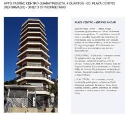 Vendo Apto, 3 Quartos - Ed. Plaza Centro (Reformado) ? IPTU 2021 Quitado!