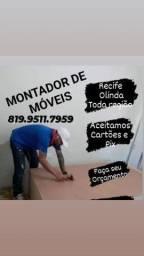 Título do anúncio: MONTO E DESMONTO MÓVEIS