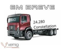 Título do anúncio: Caminhão VW 24.280 Constellation 6x2