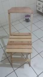 Título do anúncio: Cadeira de madeira dobravel