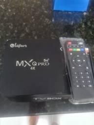TV BOX MXQ PRO 128GB VALOR IMPERDÍVEL 150,00