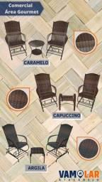 Título do anúncio: Cadeiras de fibra para varanda