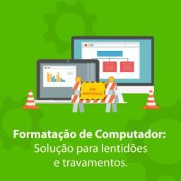 Título do anúncio:  formatação profissional windows 7/8/10
