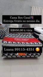 Cama Box Casal Nova Direto de fábrica Entrega grátis