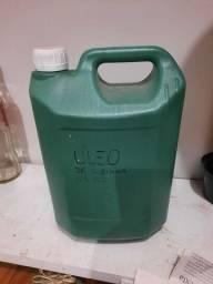 Galão 5 litros óleo de cozinha usado