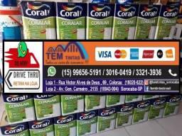 -Promoção Tinta Coral 18 Litros / 3,6 Litros / Enjoy !