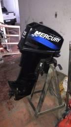 Motor de popa Mercury 25 Americano ano 2004